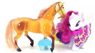 Игрушки. My little pony. Лошадки. Развивающее видео