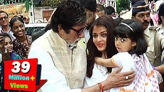 (Video) Amitabh Bachchan PAMPERS Aaradhya Bachchan   LehrenTV