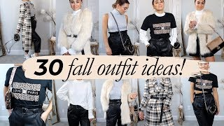 30 LOOKS FROM 8 PIECES! ft. River Island | Julia Havens