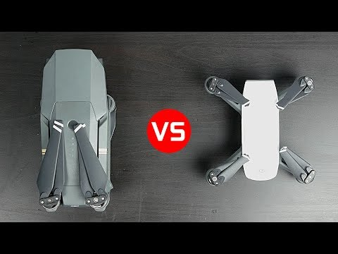 DJI Spark vs DJI Mavic Pro - What's the Best Compact Drone