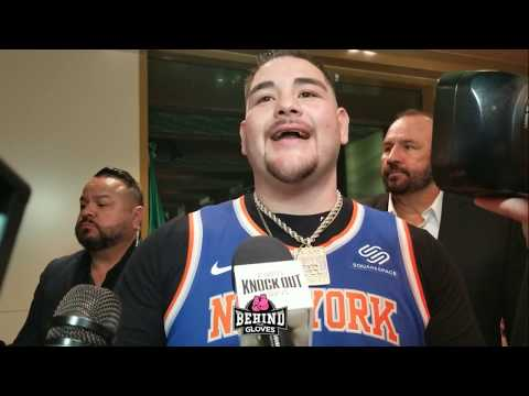 Andy Ruiz REACTS to Anthony Joshua adding NEW trainer, speaks of possible trilogy & Face off words