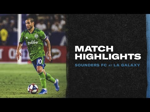 HIGHLIGHTS:  LA Galaxy vs Seattle Sounders | August 17, 2019