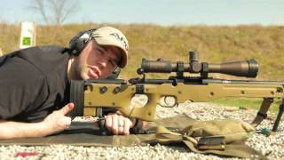B&T Ind. Accu-Shot Precision Monopod Review on an Accuracy International AE MkII