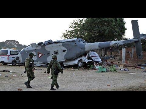 """""""Mega Mexico 7.2 Quake Then Helicopter Crash Kills 13 Quake Victims"""""""