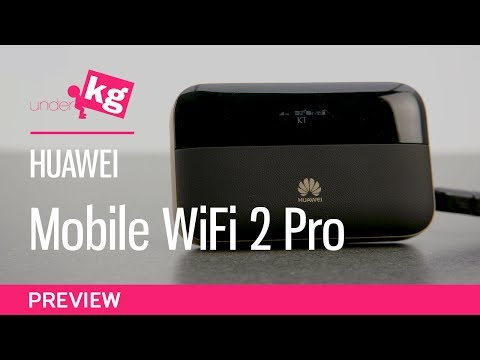 Huawei E5885 Mobile WiFi 2 Pro  Preview [4K]