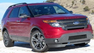 2013 Ford Explorer Sport 0-60 MPH Mile High Drive and Review