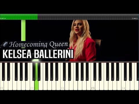 Kelsea Ballerini - HOMECOMING QUEEN PIANO & LYRICS