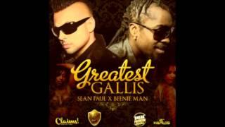 Sean Paul Ft. Beenie Man - Greatest Gallis - Sneak Preview Riddim - Jan 2013