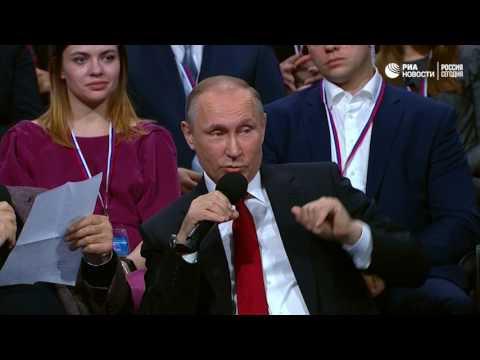 Любимый анекдот Путина