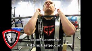 Getstrength Front Squat Zercher Harness from LiftingLarge.com