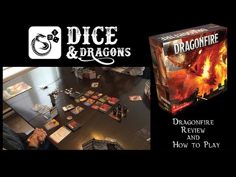 Dice and Dragons - Dragonfire Review and How to Play