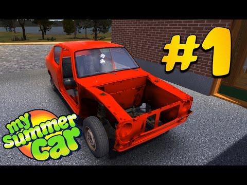 My Summer Car - часть 1 | подвеска