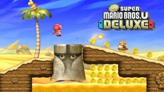 New Super Mario Bros U Deluxe Gameplay Walkthrough Part 7