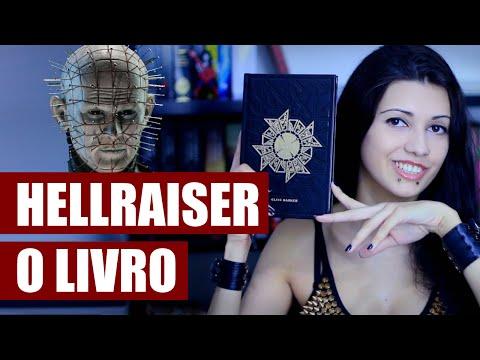RESENHA  LIVRO HELLRAISER RENASCIDO DO INFERNO