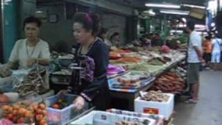 preview picture of video 'Mahachai Fishmarket'