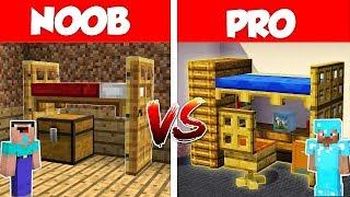 Minecraft NOOB vs PRO: Secret Bed Battle in Minecraft / Animation