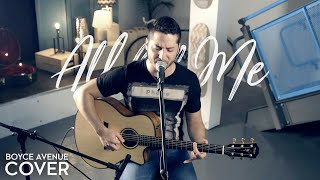 All Of Me   John Legend (Boyce Avenue Acoustic Cover) On Spotify & Apple