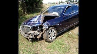 BREAKING: CJ Maraga, wife involved in road accident