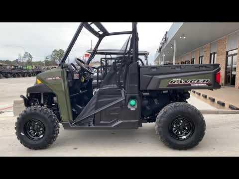 2018 Polaris Ranger Diesel in Marshall, Texas