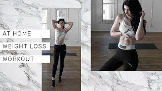 20 MIN HOME WEIGHT LOSS WORKOUT || No equipment training by Rachel Aust
