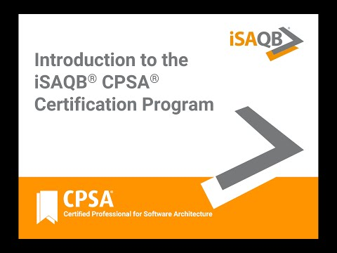 Introduction to the iSAQB® CPSA® certification program for ...