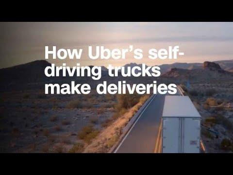 Here's how Uber's self-driving trucks make deli...