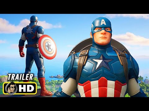 FORTNITE (2020) Captain America Arrives Trailer [HD] Epic Games