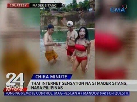 [GMA]  Thai internet sensation na si Mader Sitang, nasa Pilipinas