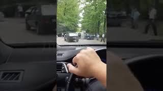 В Сочи столкнулись два автомобиля 15.06.2018