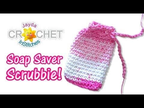 Soap Saver Scrubbie Small Bag Pouch Crochet Pattern