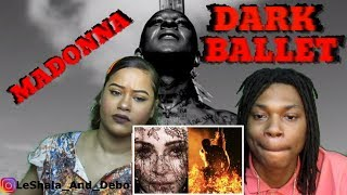MADONNA DARK BALLET REACTION (OFFICIAL VIDEO)