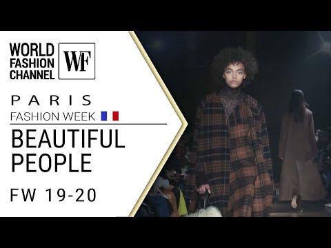 BEAUTIFUL PEOPLE | FALL-WINTER 19-20 PARIS FASHION WEEK