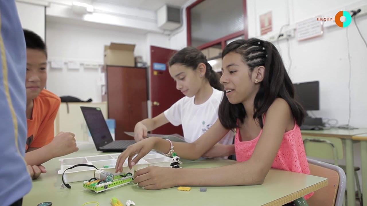 Projecte Magnet: Escola Montessori i CIM UPC
