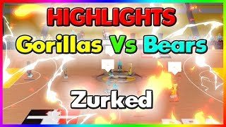 DBA GORILLAS VS BEARS HIGHLIGHTS | ZURKED | RB World 2