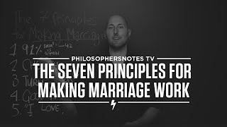 PNTV: The Seven Principles for Making Marriage Work by John Gottman