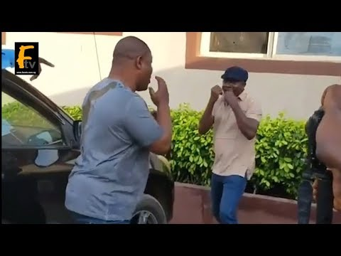 SANYERI AND YINKA QUADRI ENGAGED IN ANOTHER FIGHT IN LOCATION