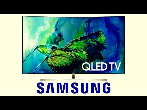 Samsung Curved 55″ 4K QLED 2017 TV Review – $3500 Worth of Awesomeness