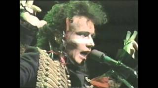Adam & the Ants - Stand and deliver. (Live 1980)