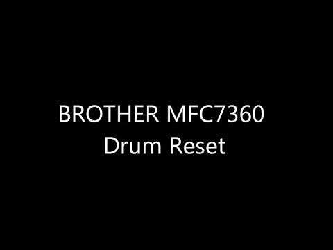 Cara Reset Brother Drum MFC 7360, MFC 7460DN, Printer MFC 7860DW Dcp 7030. KERUGIAN DRUM ERROR Mp3