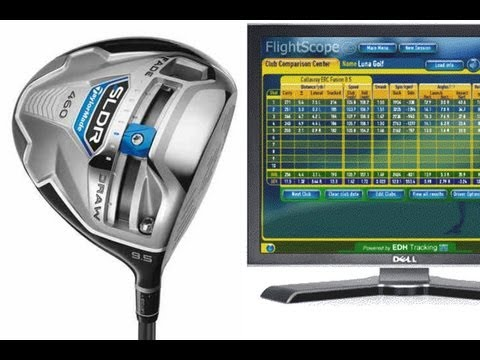 TaylorMade SLDR Driver Flightscope Distances