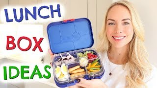 LUNCHBOX IDEAS  FOR KIDS  |  Easy + Healthy Sandwich Alternatives + Bento Box