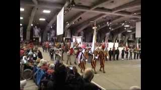 preview picture of video '55eme PMI Lourdes : cérémonie d'ouverture du pélérinage militaire'