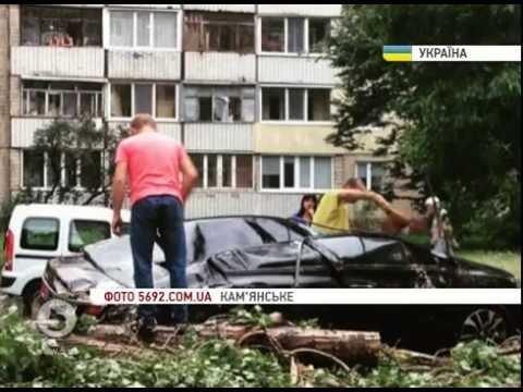 Сильні зливи, шквальний вітер та смертельна блискавка: наслідки негоди в Україні