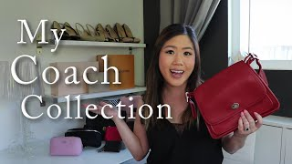 MY COACH COLLECTION! Crossbody Bags, Backpacks, SLGs & More! Including Vintage & Coach Outlet Styles