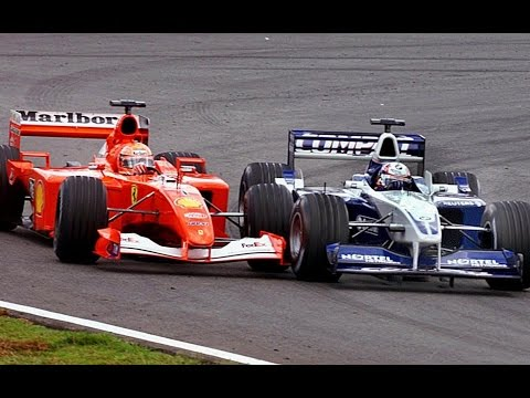 Image: Throwback - Watch birthday boy Montoya battle Schumacher in Brazil!