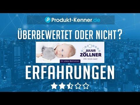 [FAZIT] Julius Zöllner Babymatratze Erfahrungen |  Dr. Lübbe Air Premium Test - Kritik?!