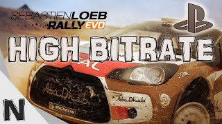 Sebastien Loeb Rally EVO PS4 Graphics Quality - High Bitrate Gameplay Video