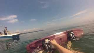 wakeboard basics how to wakeboard, how to stand up how to get up on wakeboard