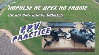 FPV practice ImpulseRC Apex HD 6S 5inch frame - GoPro 7 black