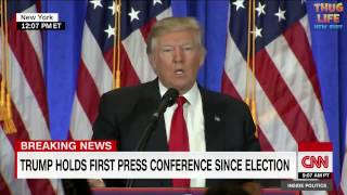 Trump Responds To False Story By CNN At Press Conference